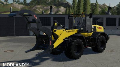 Wheel loader wood tongs v 1.0, 1 photo